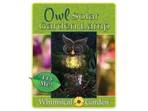 OWL GARDEN LAMP